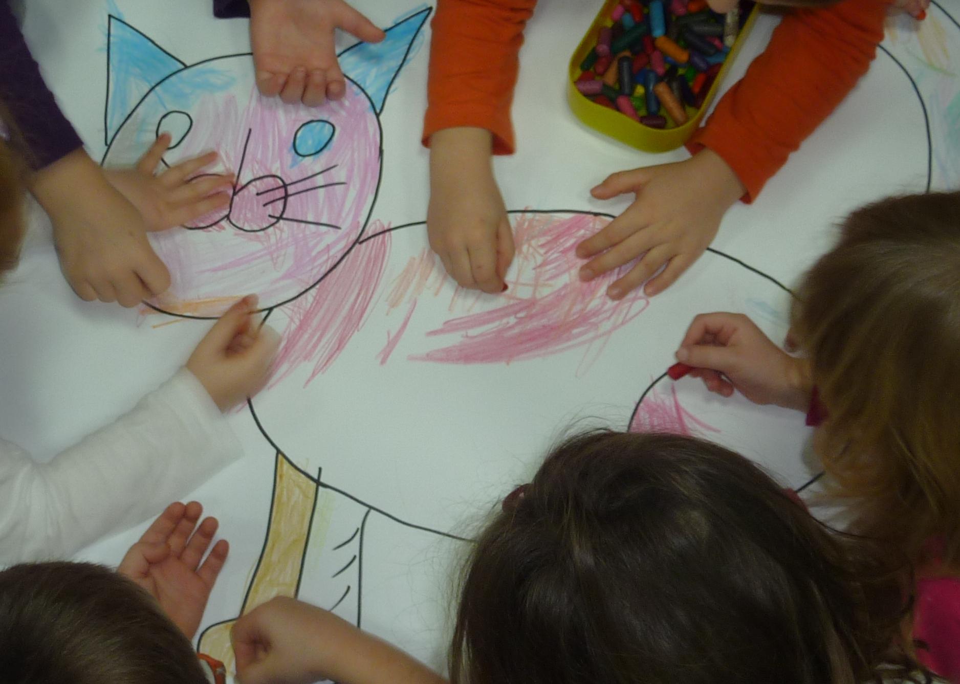 Kot Hipolit w przedszkolu